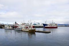 Porto di Reykjavik Fotografia Stock Libera da Diritti