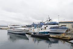 Porto di Reykjavik Immagine Stock Libera da Diritti