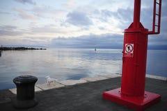 Porto di Rijeka Fotografia Stock