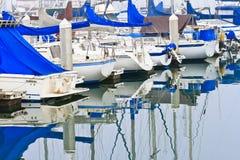 Porto di riva dell'oceano Fotografie Stock