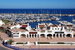 Porto di Roquetas de marzo Fotografie Stock