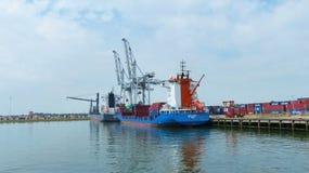 Porto di Rotterdam Fotografia Stock Libera da Diritti