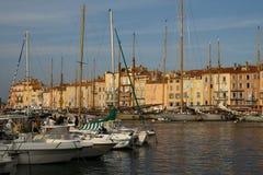 Porto di Saint Tropez fotografia stock