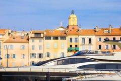 Porto di Saint Tropez, Riviera francese fotografia stock