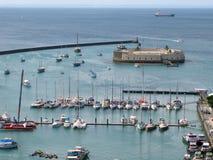 Porto di Salvador de Bahia Fotografia Stock Libera da Diritti