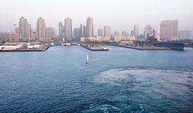 Porto di San Diego, California Immagine Stock Libera da Diritti