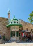 Porto di San Giovanni d'Acri, Israele Immagine Stock