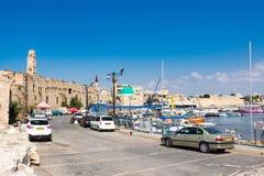 Porto di San Giovanni d'Acri, Israele Fotografia Stock