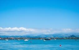 Porto di Santander, Cantabria, Spagna immagini stock