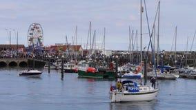 Porto di Scarborough Immagini Stock Libere da Diritti