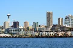 Porto di Seattle Immagini Stock