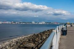 Porto di Seattle Immagine Stock