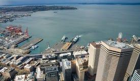 Porto di Seattle Immagini Stock Libere da Diritti