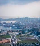 Porto di Singapore Fotografie Stock Libere da Diritti
