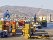 Porto di Smirne Fotografia Stock