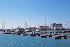Porto di Sochi Fotografia Stock