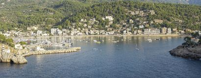 Porto di Soller fotografie stock