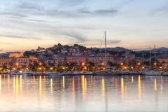 Porto di Spezia della La, Cinque Terre, Italia Fotografie Stock
