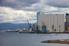 Porto di Stavanger fotografia stock libera da diritti