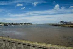 Porto di Stranraer e lago Ryan Fotografia Stock