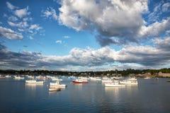 Porto di sud-ovest, Maine, U.S.A. Fotografie Stock Libere da Diritti