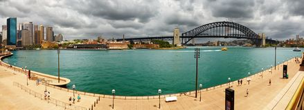 Porto di Sydney Fotografia Stock