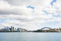 Porto di Sydney Immagine Stock