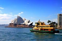 Porto di Sydney fotografie stock libere da diritti