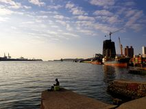 Porto di Taiwan Kaohsiung immagine stock