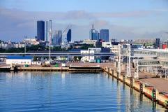Porto di Tallinn, Estonia Fotografia Stock