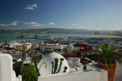 Porto di Tangeri Fotografia Stock