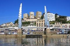Porto di Torquay immagine stock