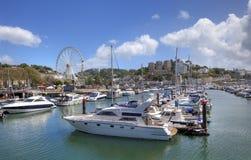 Porto di Torquay, Devon immagine stock libera da diritti