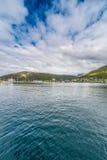 Porto di Tromso, Norvegia Immagini Stock Libere da Diritti
