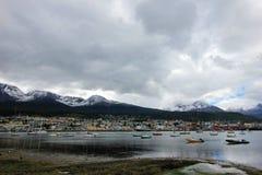 Porto di Ushuaia, Tierra del Fuego, Argentina Immagine Stock Libera da Diritti