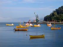 Porto di Valdivia, Cile Fotografia Stock Libera da Diritti