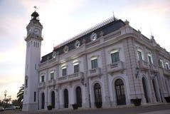 Porto di Valencia Fotografia Stock Libera da Diritti
