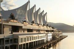 Porto di Vancouver immagini stock libere da diritti