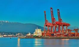 Porto di Vancouver Fotografia Stock