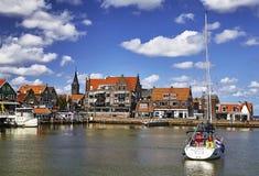 Porto di Volendam, Paesi Bassi immagine stock