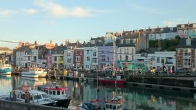 Porto di Weymouth Immagine Stock Libera da Diritti