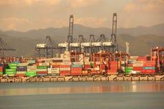 Porto di Yantian Fotografie Stock