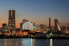 Porto di Yokohama Fotografie Stock Libere da Diritti