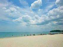Porto Dickson Beach della Malesia Fotografia Stock Libera da Diritti