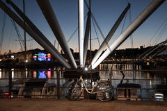 Porto diGenova il stor nolla Arkivbilder