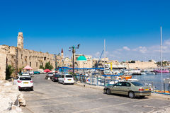 Porto do acre, Israel Foto de Stock