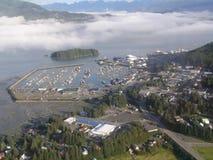 Porto do barco de Cordova, Alaska Fotografia de Stock