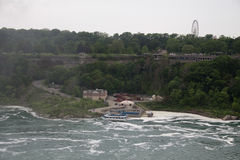 Porto do beira-rio de Niagara Falls Foto de Stock