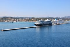Porto do cruzeiro Foto de Stock Royalty Free