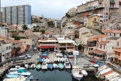 Porto do DES Auffes de Vallon, Marselha, França Foto de Stock